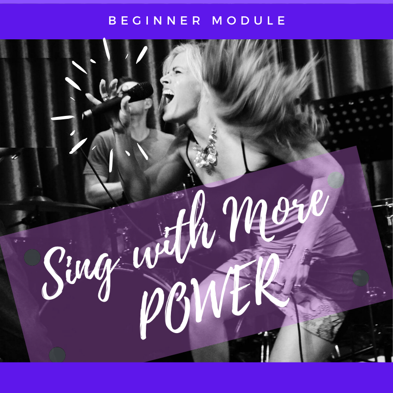 Let's leverage your anatomy and get your voice working for you!  In this module, you'll learn how to increase your volume, project your voice, sing longer phrases, and get more power across your whole range, so you can bring big songs to life.