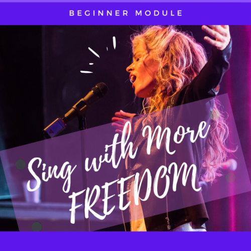 sing with more freedom